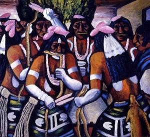 Hopi Snake Dance, 1933 Emil Bisttram