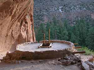 Alcove House or Ceremonial Cave, Bandelier